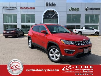 2021 Redline Pearlcoat Jeep Compass Latitude SUV 2.4L I4 Engine 4 Door 4X4