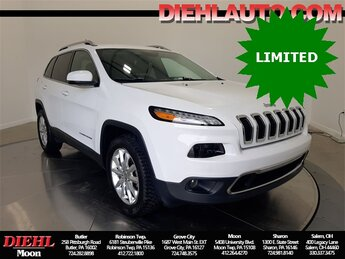 2017 Jeep Cherokee Limited 4 Door SUV Automatic