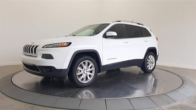 2017 Jeep Cherokee Limited Automatic 2.4L 4-Cylinder SMPI SOHC Engine 4X4 4 Door SUV