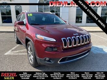 2018 Jeep Cherokee Limited 4 Door 4X4 Automatic SUV