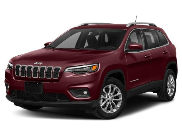 2020 Velvet Red Pearlcoat Jeep Cherokee Latitude Plus 2.4L I4 Engine Automatic 4 Door SUV