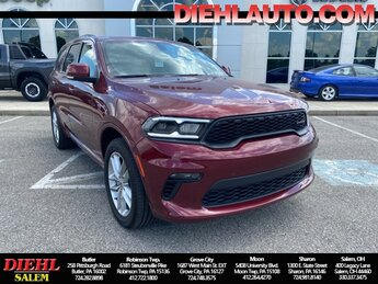 2021 Dodge Durango GT AWD Automatic 3.6L V6 24V VVT Engine 4 Door SUV