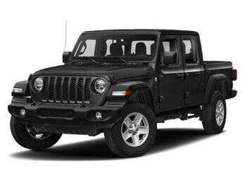 2021 Black Clearcoat Jeep Gladiator Sport Automatic 4X4 Truck
