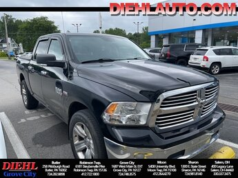 2014 Ram 1500 Big Horn Truck 4X4 HEMI 5.7L V8 Multi Displacement VVT Engine 4 Door Automatic