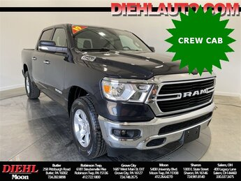 2019 Maximum Steel Metallic Clearcoat Ram 1500 Big Horn/Lone Star 3.6L V6 24V VVT Engine 4X4 4 Door