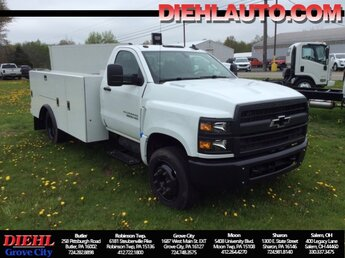 2020 Chevrolet Silverado 5500HD Work Truck Automatic RWD Duramax 6.6L V8 Turbodiesel Engine Truck 2 Door