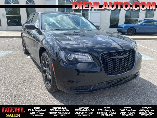 2021 Gloss Black Chrysler 300 Touring 4 Door AWD Automatic