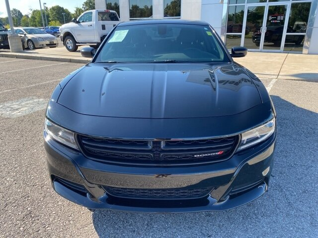 2019 Pitch Black Clearcoat Dodge Charger SXT 3.6L V6 Flex Fuel 24V VVT Engine AWD 4 Door Automatic Sedan