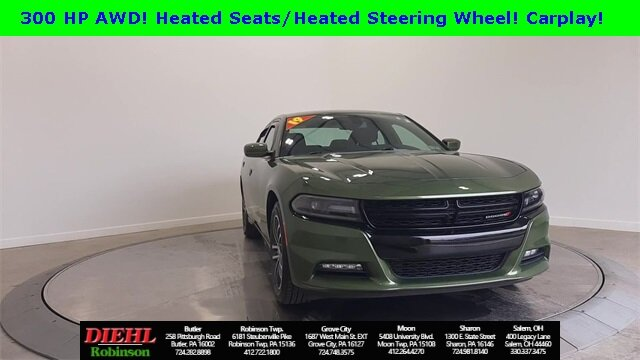 2019 Dodge Charger SXT Sedan 3.6L V6 Flex Fuel 24V VVT Engine 4 Door AWD Automatic