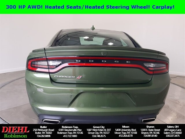 2019 Dodge Charger SXT AWD 4 Door Sedan Automatic