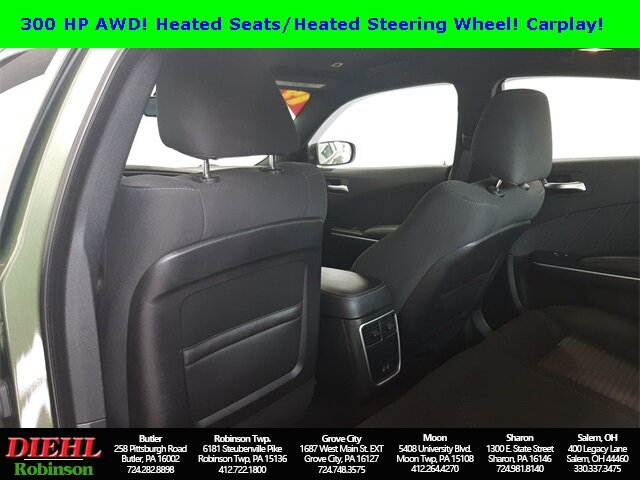 2019 F8 Green Dodge Charger SXT Automatic Sedan AWD 3.6L V6 Flex Fuel 24V VVT Engine