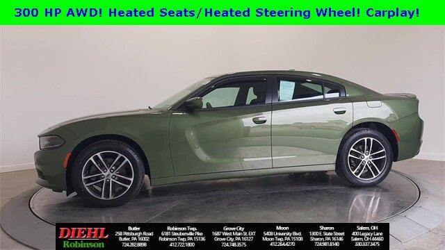 2019 Dodge Charger SXT 4 Door Sedan AWD 3.6L V6 Flex Fuel 24V VVT Engine
