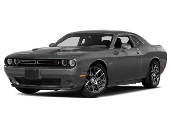 2018 Destroyer Gray Clearcoat Dodge Challenger R/T RWD HEMI 5.7L V8 Multi Displacement VVT Engine Coupe Automatic 2 Door