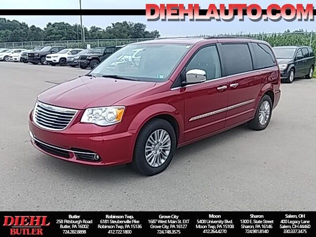 2016 Chrysler Town & Country Touring-L FWD Van 3.6L 6-Cylinder SMPI DOHC Engine Automatic