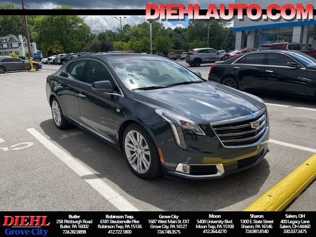 2019 Stone Gray Metallic Cadillac XTS Luxury AWD Sedan 3.6L V6 DGI DOHC VVT Engine Automatic