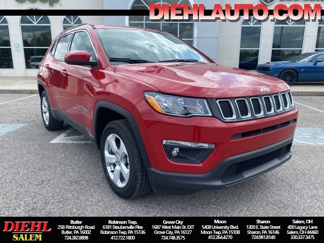 2021 Jeep Compass Latitude 2.4L I4 Engine SUV 4X4 Automatic 4 Door