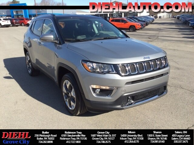 2021 Jeep Compass Limited 4 Door 2.4L I4 Engine 4X4