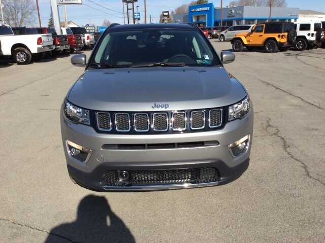 2021 Billet Silver Metallic Clearcoat Jeep Compass Limited SUV Automatic 4 Door