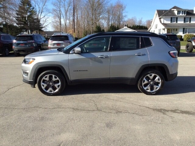 2021 Billet Silver Metallic Clearcoat Jeep Compass Limited 4 Door 4X4 Automatic