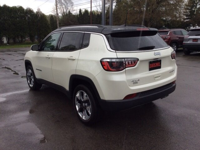 2021 Jeep Compass Limited 4X4 Automatic 4 Door SUV