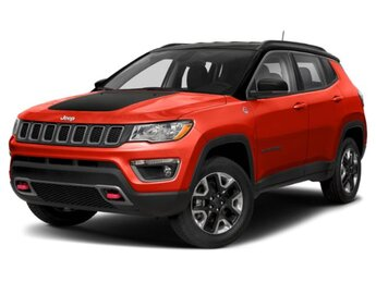 2021 Spitfire Orange Clearcoat Jeep Compass Trailhawk SUV Automatic 4X4 2.4L I4 Engine 4 Door