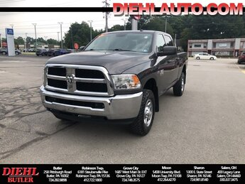 2018 Granite Crystal Metallic Clearcoat Ram 2500 Tradesman Truck 4X4 4 Door 6.4L Heavy Duty V8 HEMI w/MDS Engine