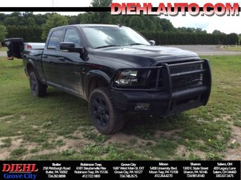 2018 Ram 2500 Big Horn 4 Door 4X4 Truck Cummins 6.7L I6 Turbodiesel Engine Automatic