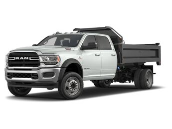 2020 Bright White Clearcoat Ram 5500 Tradesman 4X4 Truck 4 Door
