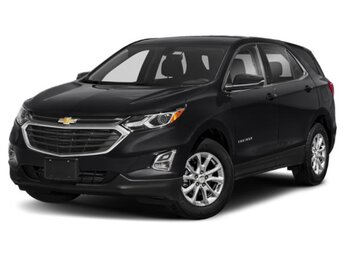 2018 Mosaic Black Metallic Chevrolet Equinox LT AWD Automatic SUV 1.5L DOHC Engine 4 Door