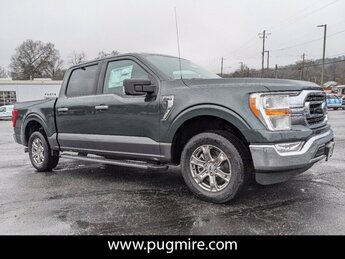 2021 Guard Metallic Ford F-150 XLT 2WD SUPERCREW 5.5 BO Truck 2.7L V6 Ecoboost Engine 4 Door
