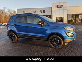 2021 Lightning Blue Metallic Ford EcoSport SES 4WD Automatic 2.0L 4-Cyl Engine 4 Door