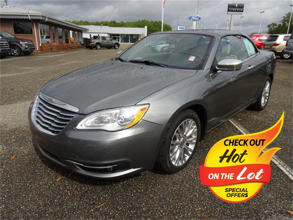 Used 2011 Chrysler 200 Limited Fwd Convertible For Sale In