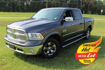 2017 granite crystal metallic clearcoat Ram 1500 Laramie 3.6L V6 24V VVT Engine Automatic RWD
