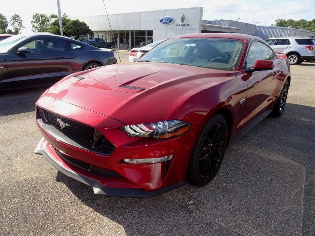 2019 Ruby Red Metallic Ford Mustang GT Coupe Automatic 2 Door RWD