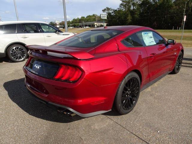 2019 Ruby Red Metallic Ford Mustang GT 2 Door Automatic 5.0L V8 Ti-VCT Engine Coupe