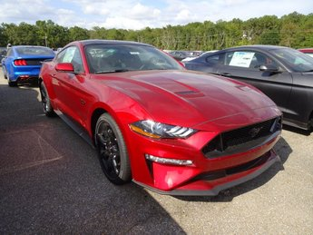 2019 Ruby Red Metallic Ford Mustang GT RWD 5.0L V8 Ti-VCT Engine 2 Door Automatic