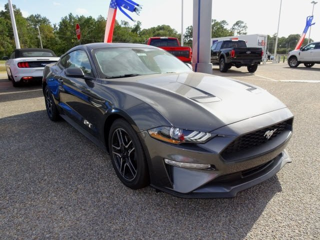 2019 Magnetic Ford Mustang EcoBoost RWD Coupe EcoBoost 2.3L I4 GTDi DOHC Turbocharged VCT Engine