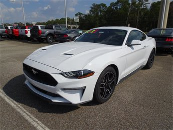 2020 Oxford White Ford Mustang EcoBoost EcoBoost 2.3L I4 GTDi DOHC Turbocharged VCT Engine RWD Automatic 2 Door