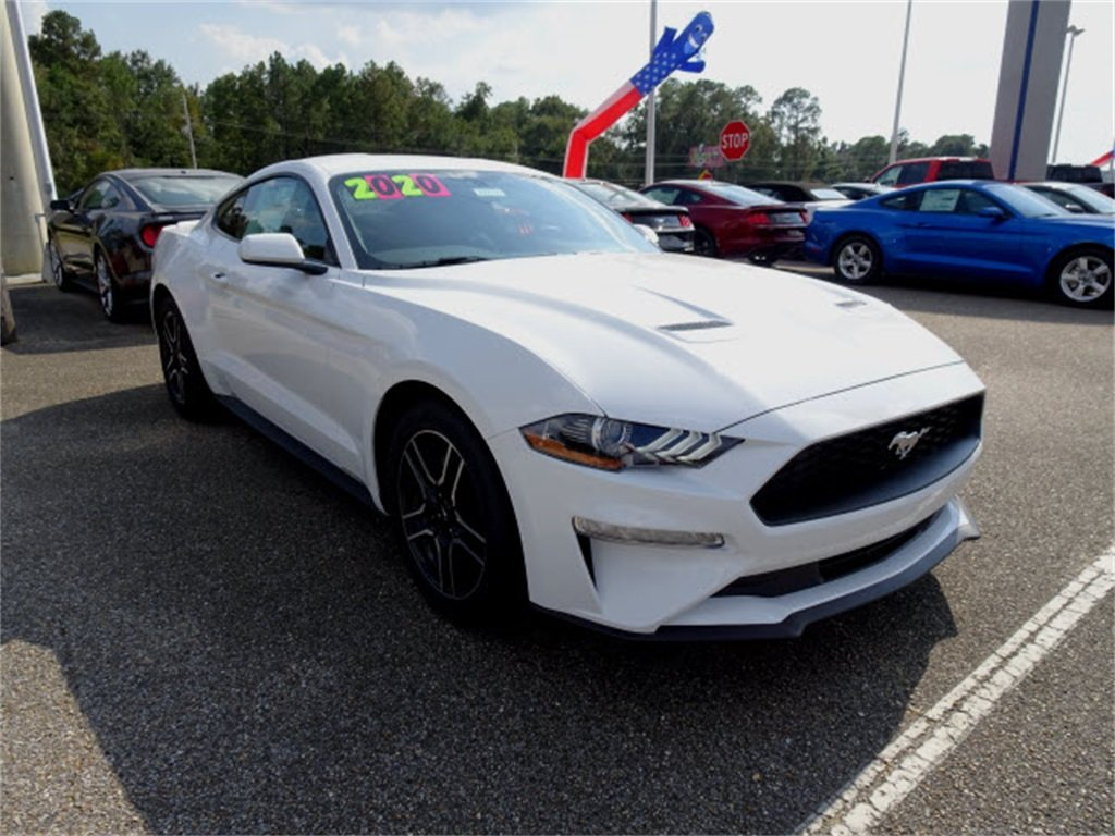 2020 Ford Mustang EcoBoost 2 Door RWD EcoBoost 2.3L I4 GTDi DOHC Turbocharged VCT Engine