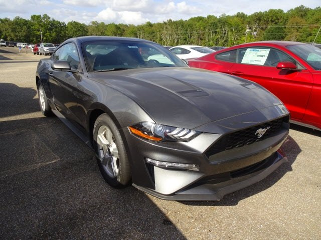 2019 Ford Mustang EcoBoost RWD Automatic EcoBoost 2.3L I4 GTDi DOHC Turbocharged VCT Engine 2 Door