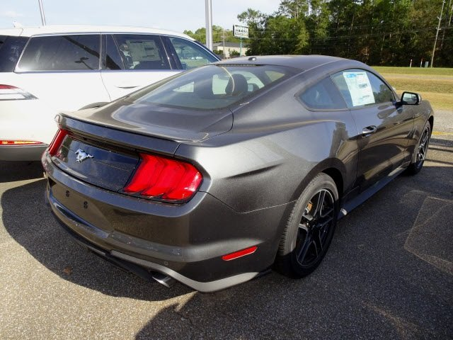 2019 Magnetic Ford Mustang EcoBoost Premium 2 Door EcoBoost 2.3L I4 GTDi DOHC Turbocharged VCT Engine Automatic