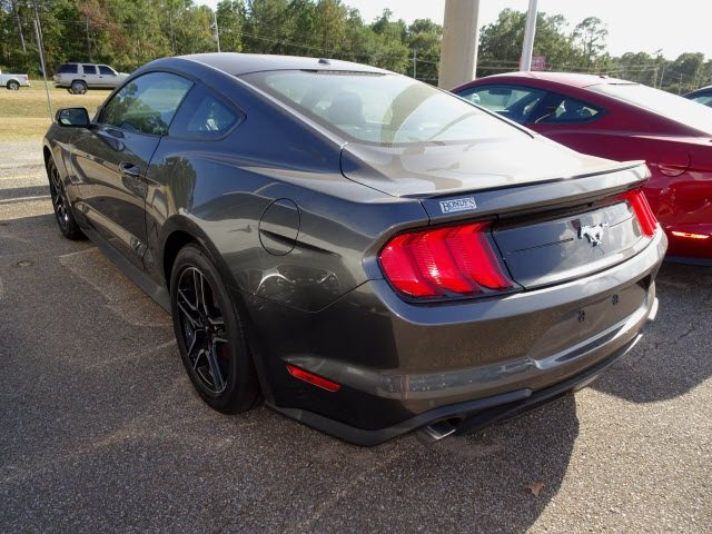 2019 Magnetic Ford Mustang EcoBoost Premium Automatic 2 Door EcoBoost 2.3L I4 GTDi DOHC Turbocharged VCT Engine Coupe RWD