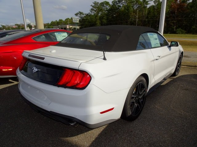 2019 Ford Mustang EcoBoost Premium 2 Door EcoBoost 2.3L I4 GTDi DOHC Turbocharged VCT Engine RWD Convertible Automatic