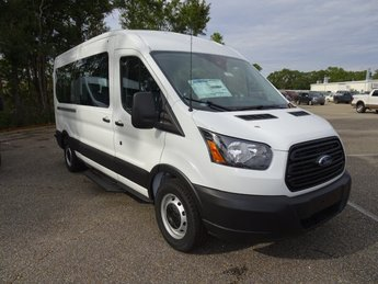 2019 Oxford White Ford Transit-350 3 Door Automatic Van 3.7L V6 Ti-VCT 24V Engine RWD