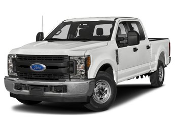 2019 Oxford White Ford Super Duty F-350 DRW 4 Door Power Stroke 6.7L V8 DI 32V OHV Turbodiesel Engine 4X4