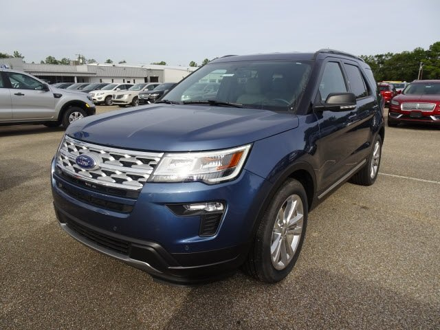 2019 Blue Metallic Ford Explorer XLT SUV Automatic FWD 4 Door