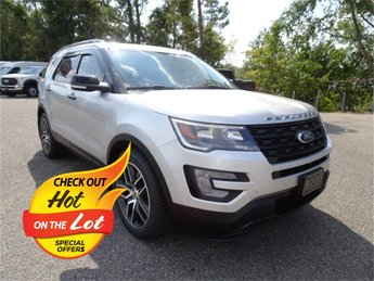 2017 Ford Explorer Sport EcoBoost 3.5L V6 GTDi DOHC 24V Twin Turbocharged Engine 4X4 4 Door