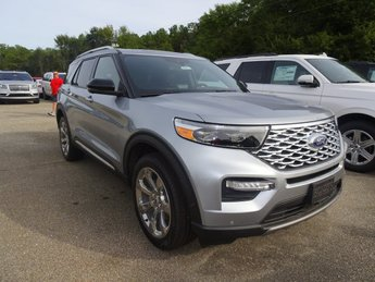 2020 Ford Explorer Platinum Automatic 4X4 4 Door V6 Engine