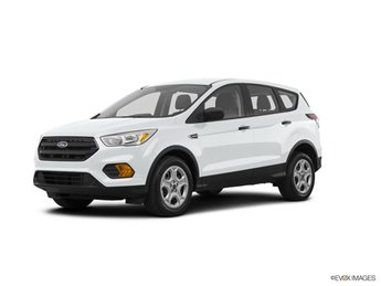 2019 Oxford White Ford Escape S 4 Door SUV 2.5L iVCT Engine FWD