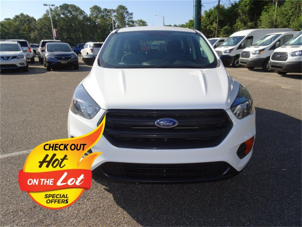 2018 Ford Escape S FWD SUV 2.5L i-VCT Engine 4 Door
